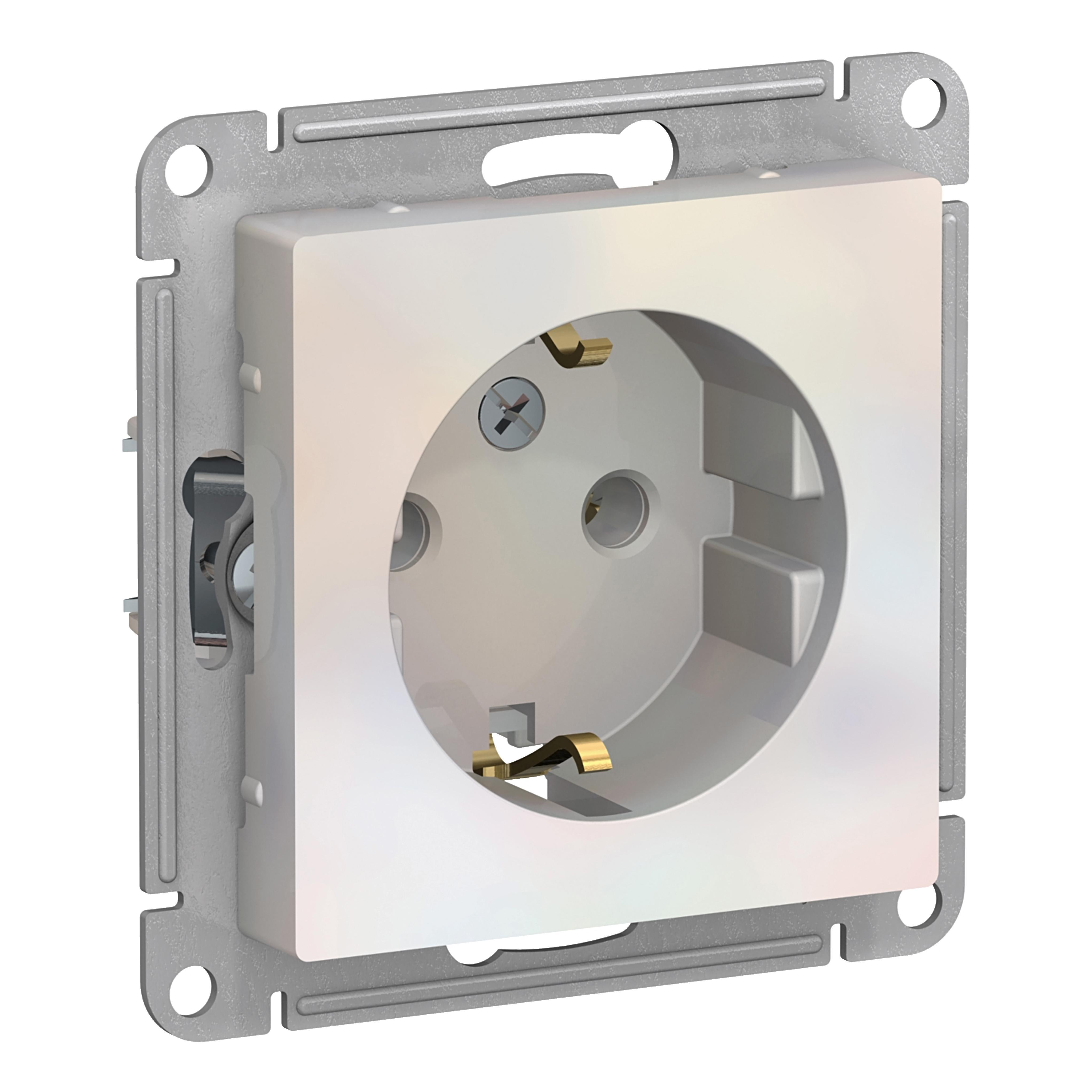 Купить Механизм розетки Schneider electric Atn000443
