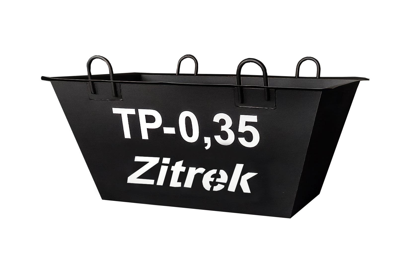 Тара для раствора Zitrek ТР-0,35 (021-2058) балетки для девочки worldcolors цвет бирюзовый 027 021 размер 33 34