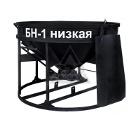Бадья для бетона ZITREK БН-1 (021-1058-2) (люлька, воронка, лоток) низкая