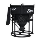 Бадья для бетона ZITREK БН-1.0 (021-1063) (лоток)