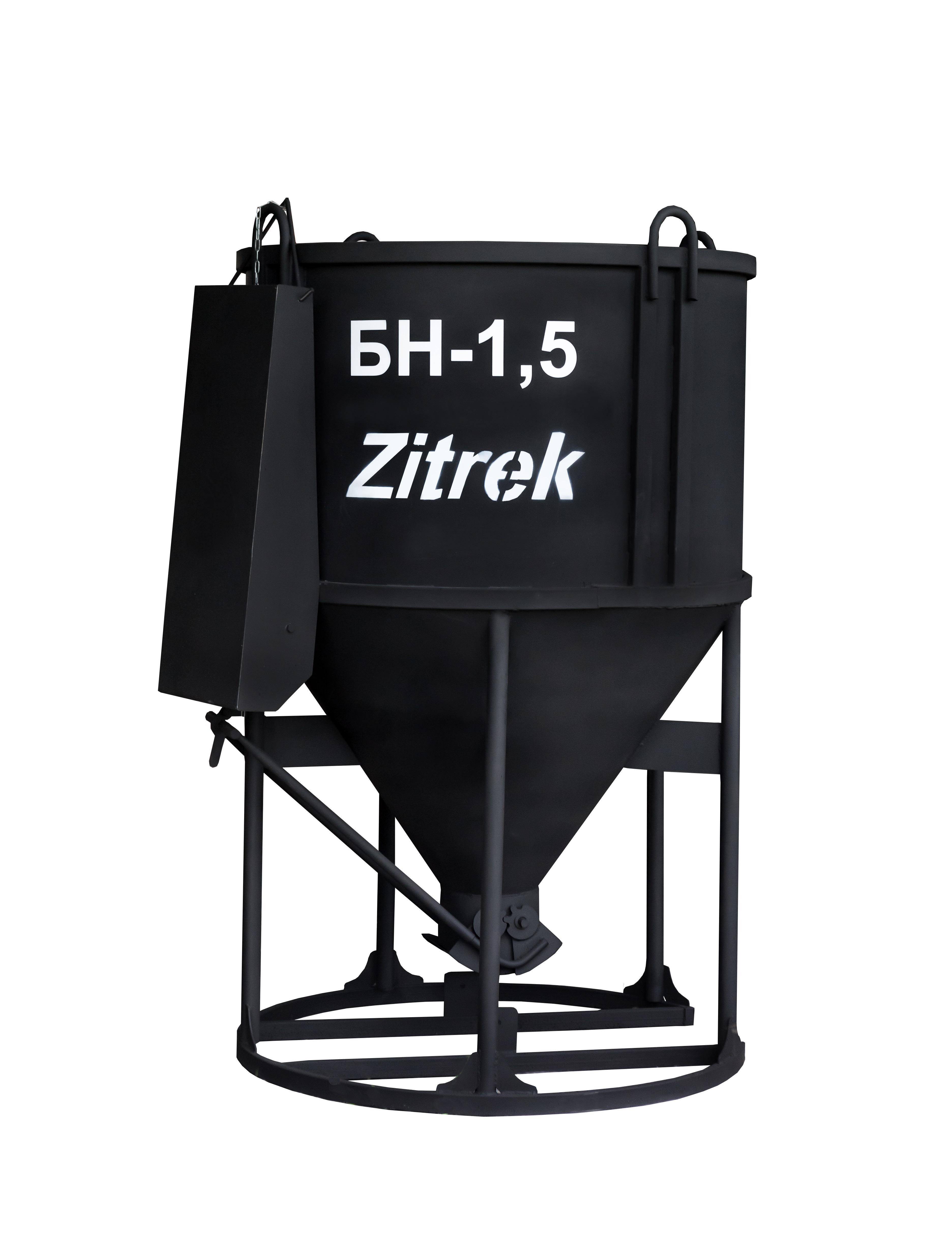 Бадья для бетона Zitrek БН-1.5 (021-1012) (лоток) tenmars tm 1012 400a autoranging ac clamp on meter tenmars