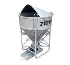Бадья для бетона ZITREK БНПу-1 (021-1055) (воронка, лоток)