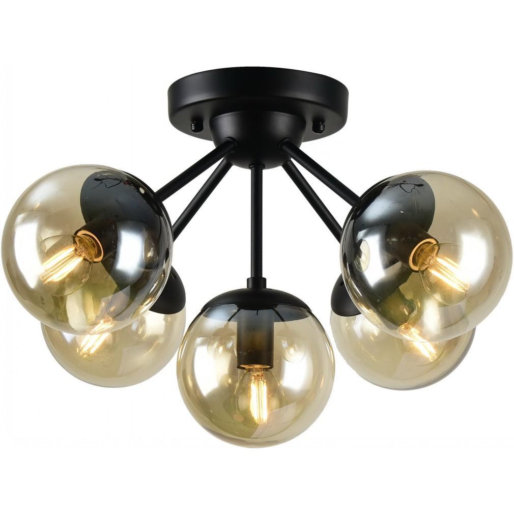 Люстра Arte lamp A1664pl-5bk bolla