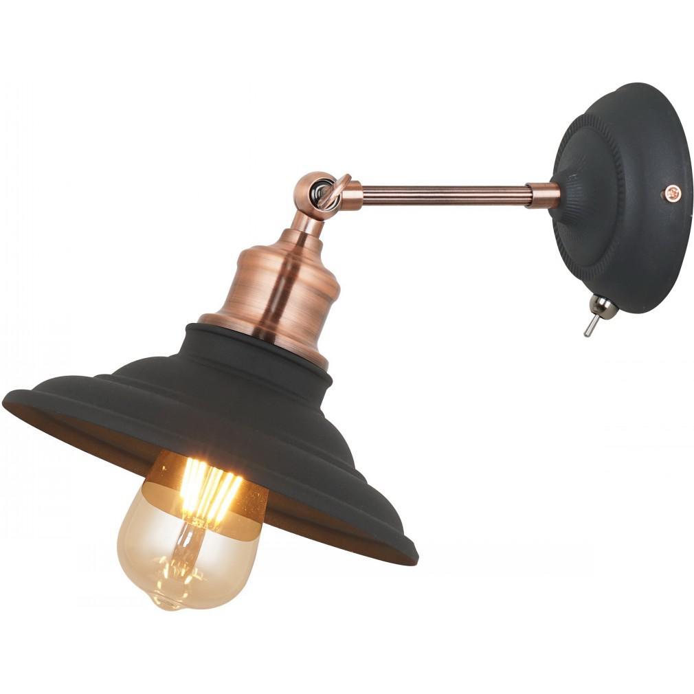 Бра Arte lamp A5067ap-1bk lido светильник kutek lido lid zw 1 p