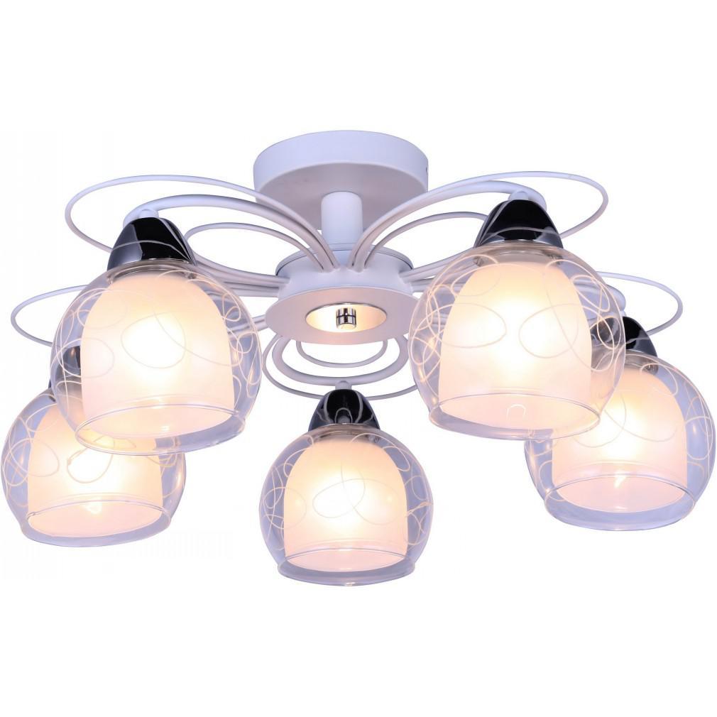Люстра Arte lamp A7585pl-5wh sansa потолочный светильник arte lamp a8348pl 5wh белый