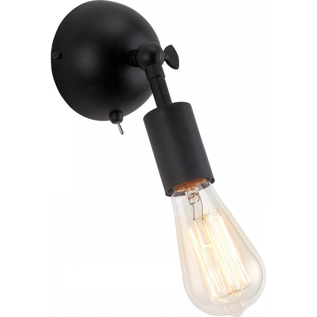 Купить Бра Arte lamp A9190ap-1bk roots