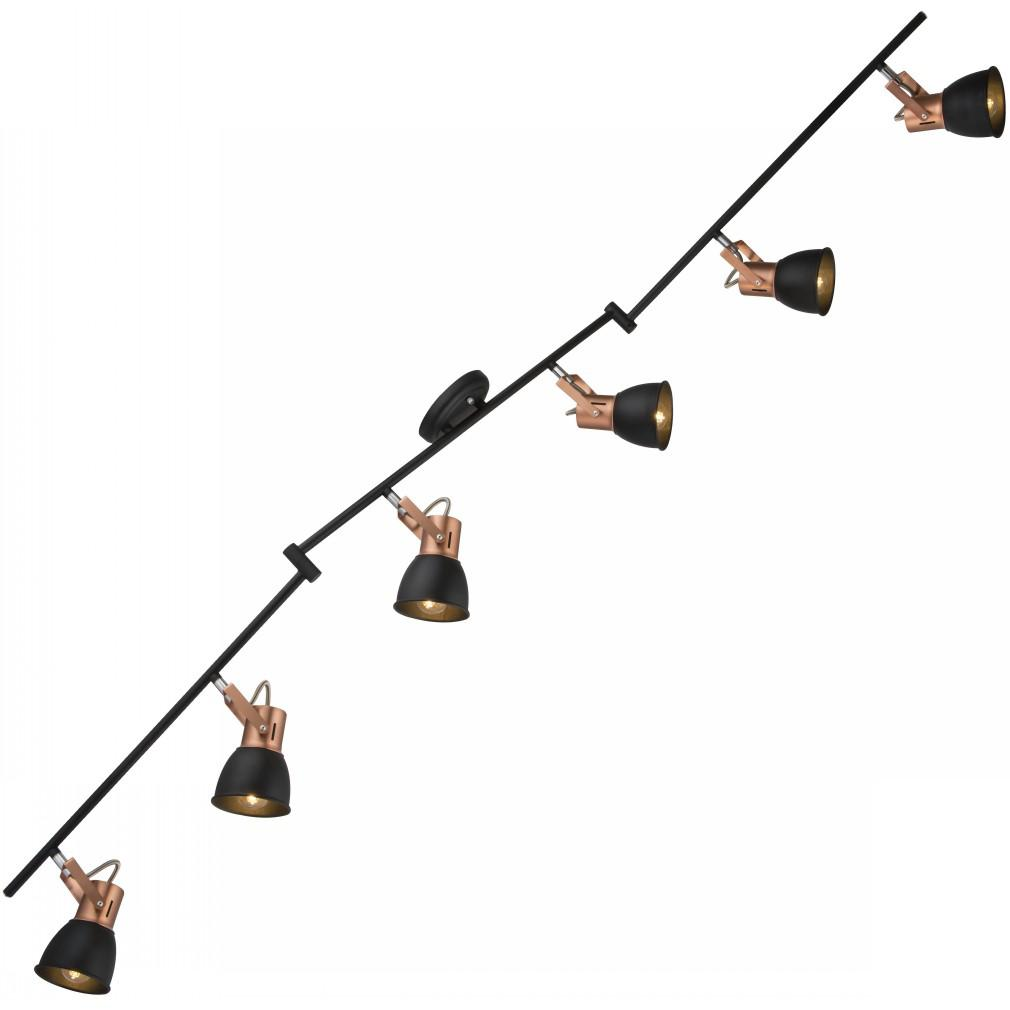 Спот Arte lamp A1677pl-6bk jovi