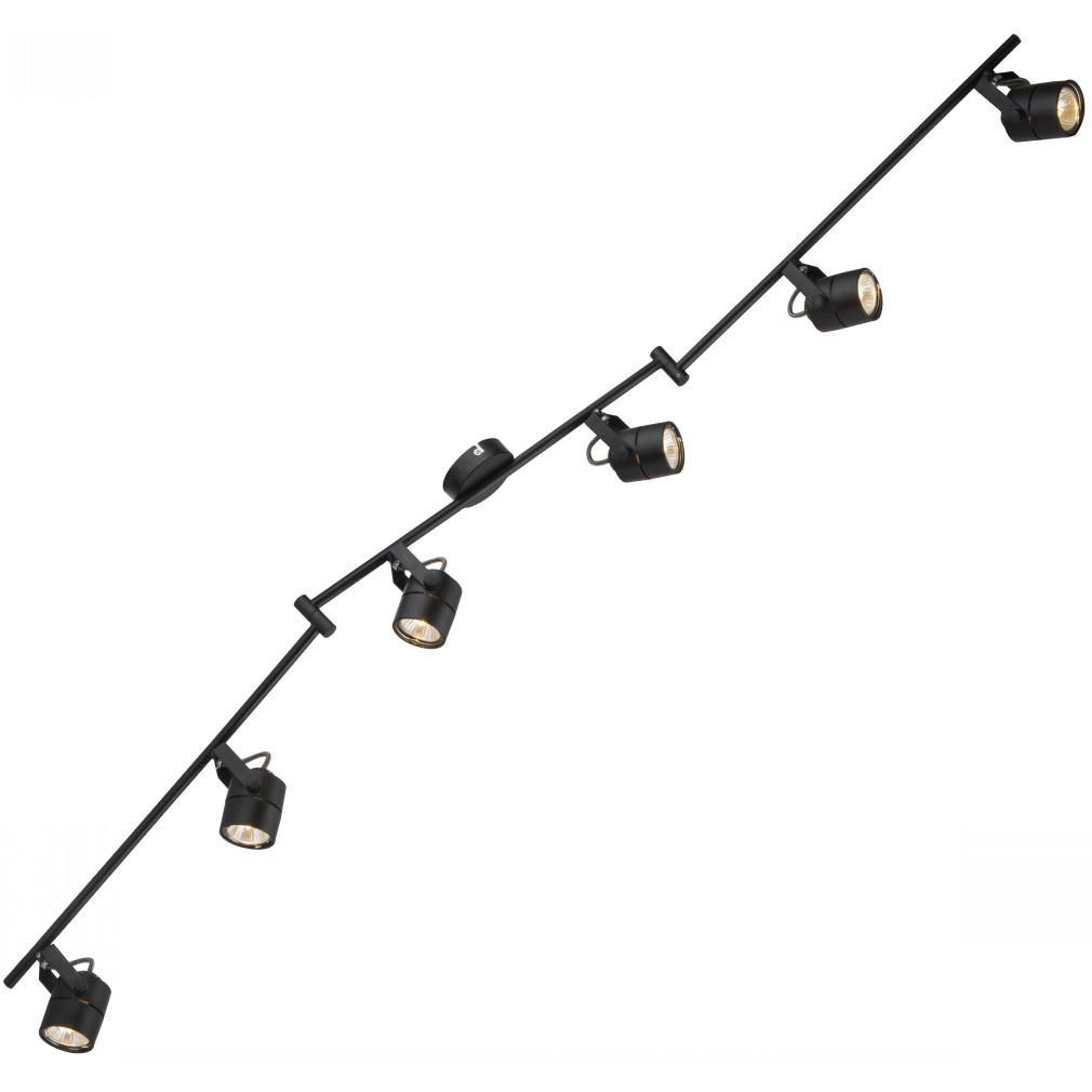 Спот Arte lamp A1310pl-6bk lente спот arte lamp lente a1310pl 4wh