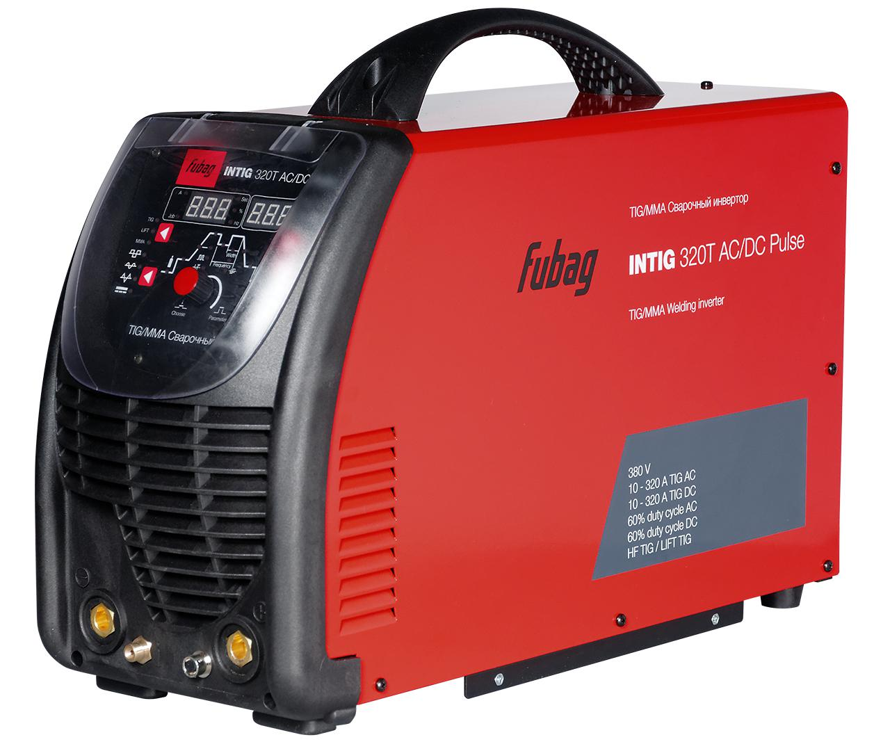 цена на Инвертор Fubag Intig 320 t ac/dc pulse + fb tig 26 5p 4m (38459) (38431.2)