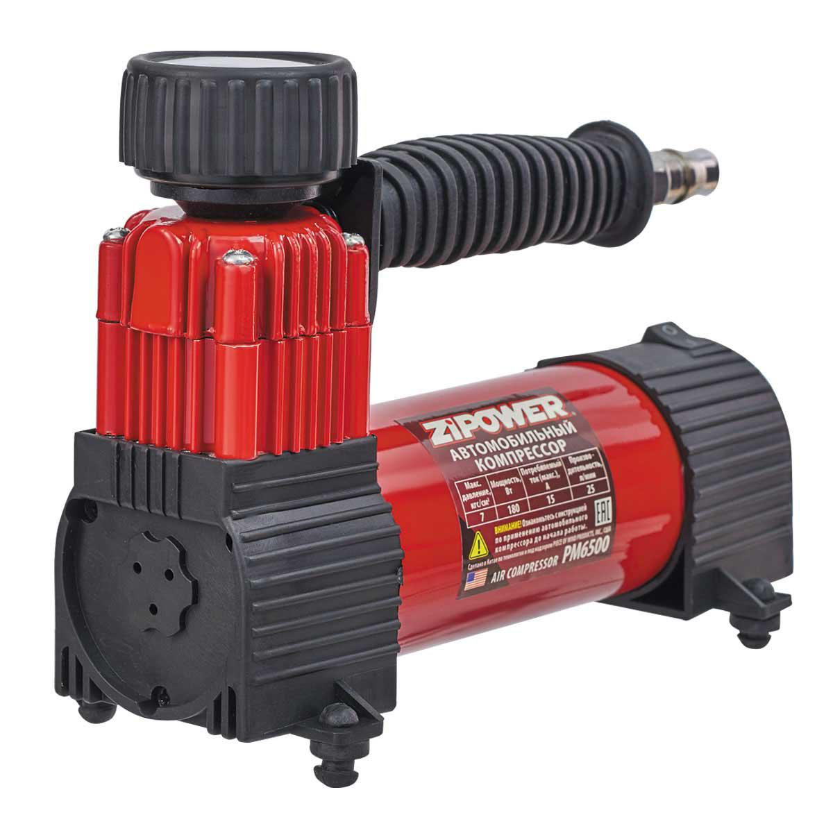 Автомобильный компрессор Zipower Pm6500