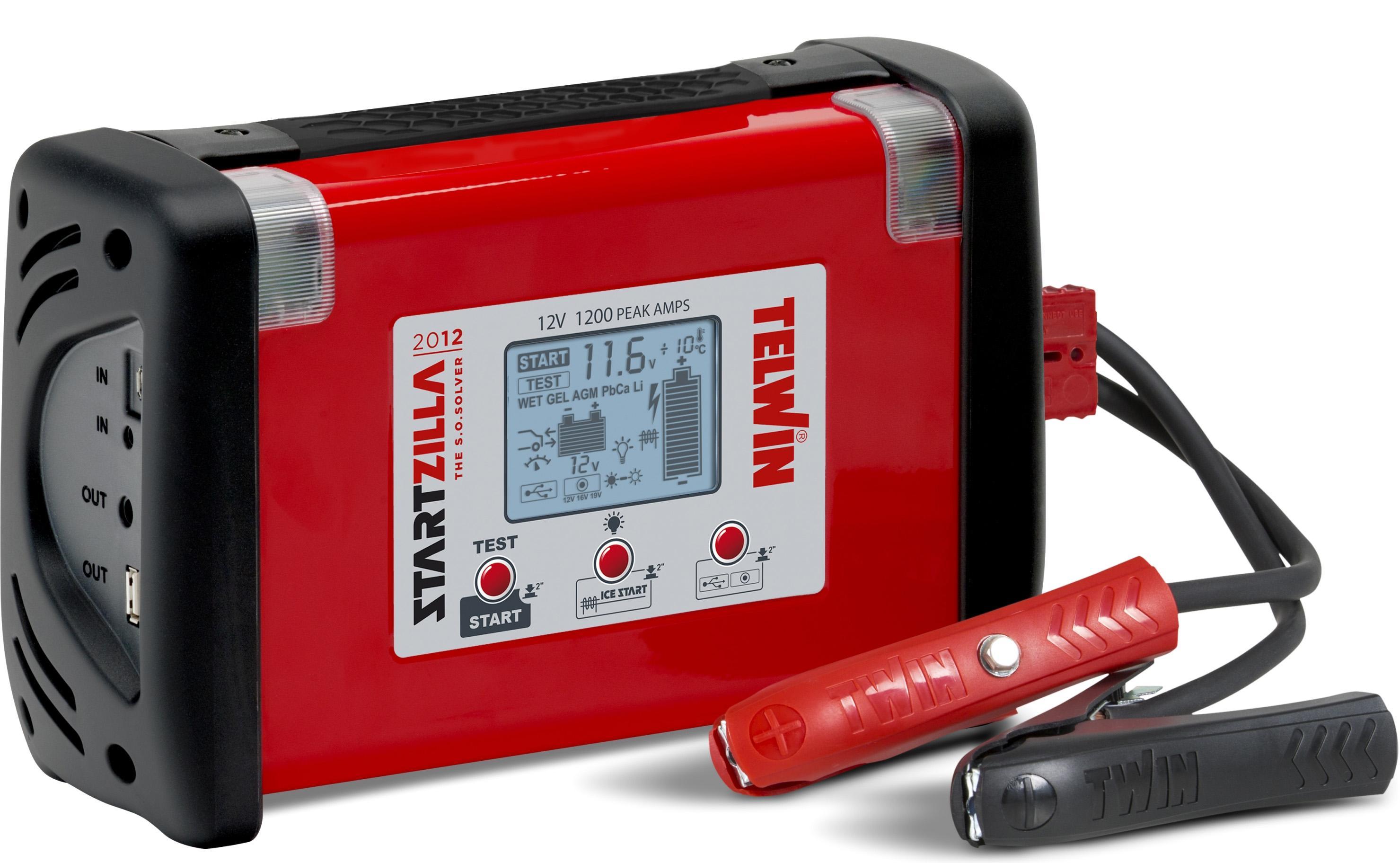 Устройство пусковое Telwin Startzilla 2012 12v (829521) для автомобиля класса лада аккумулятора какой нужен