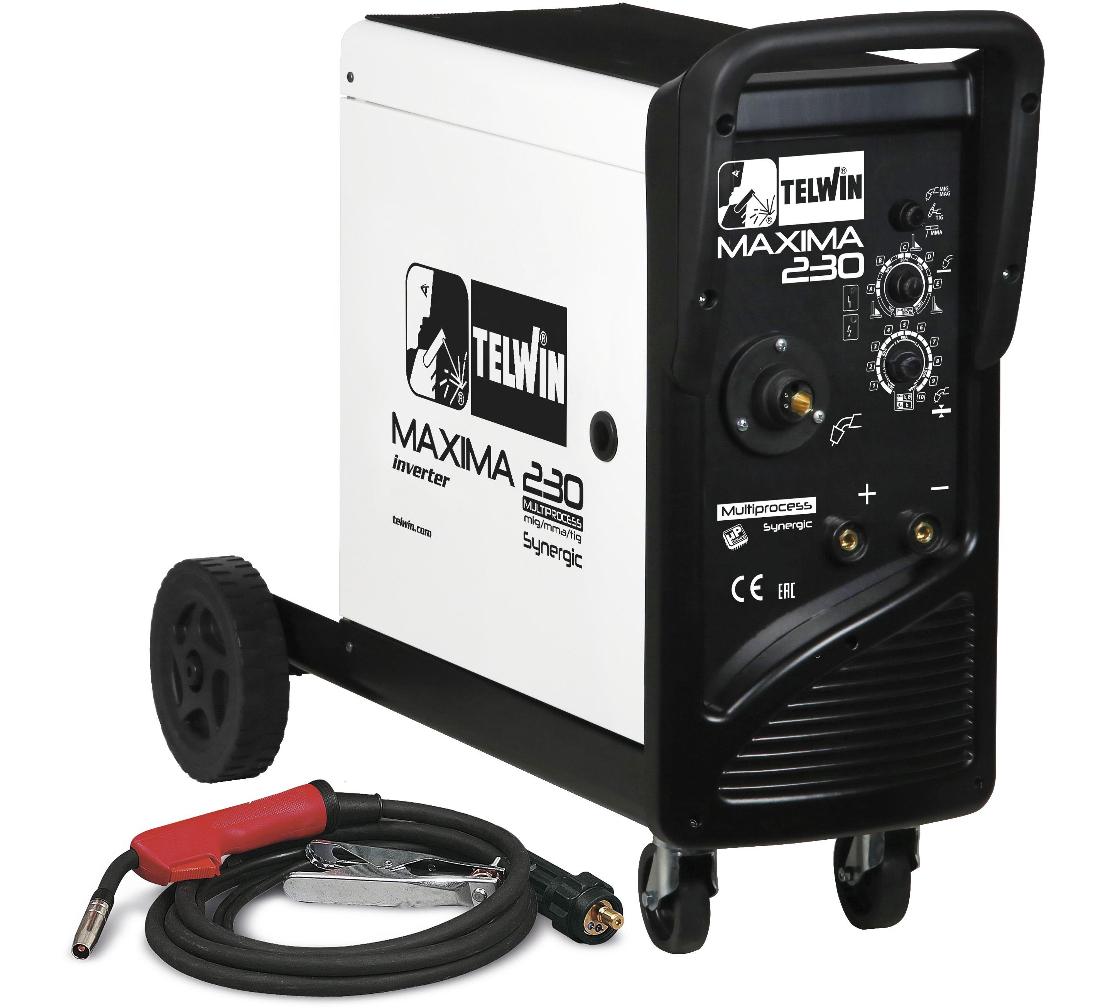 Сварочный полуавтомат TELWIN MAXIMA 230 SYNERGIC 230V (816088)