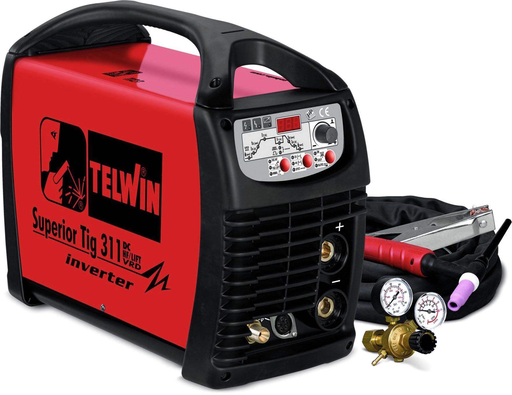Купить Сварочный аппарат Telwin Superior tig 311 dc-hf/lift 230-400v + tig acc (816123)