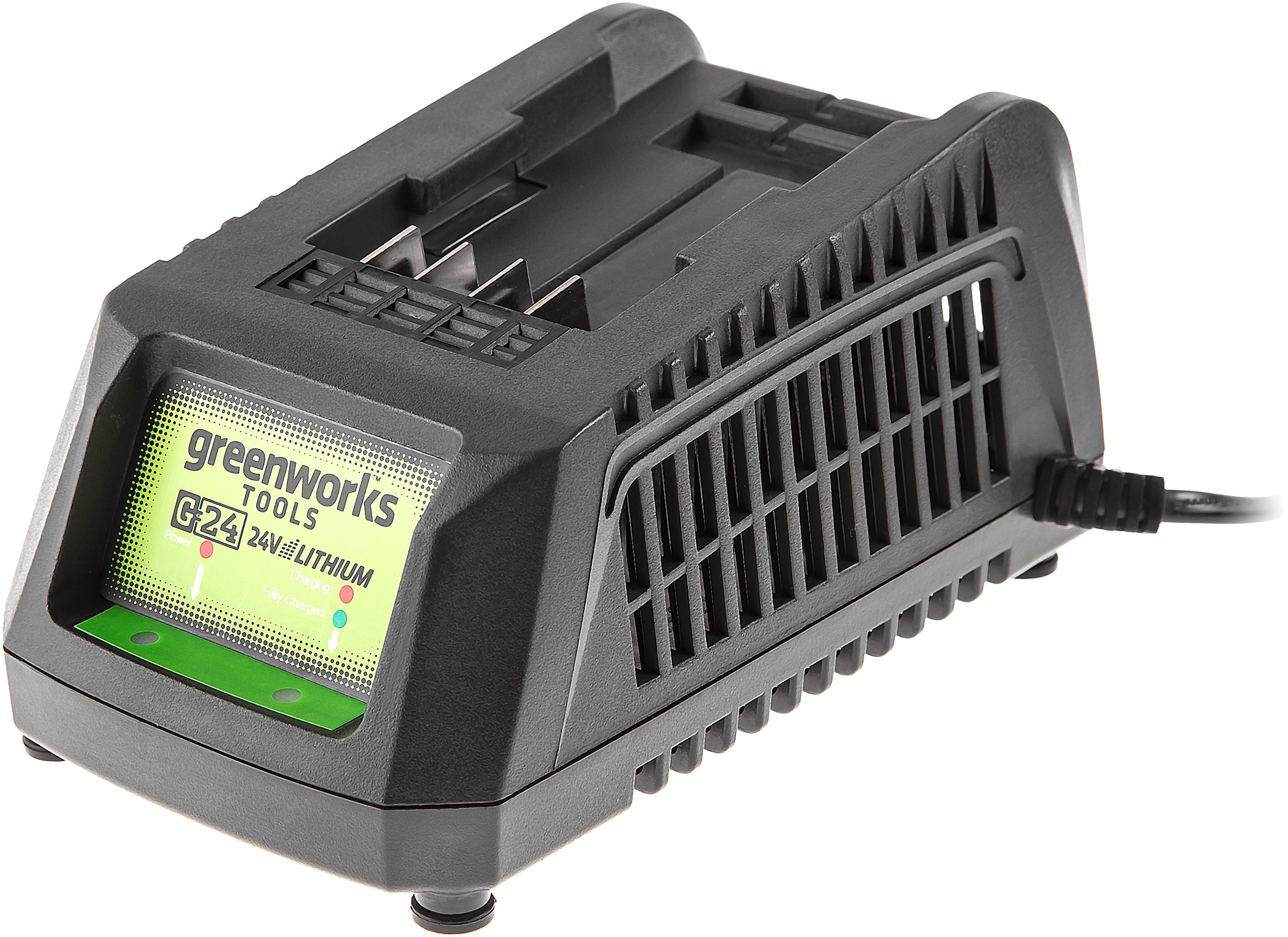 Зарядное устройство Greenworks G24c (2913907) зарядное