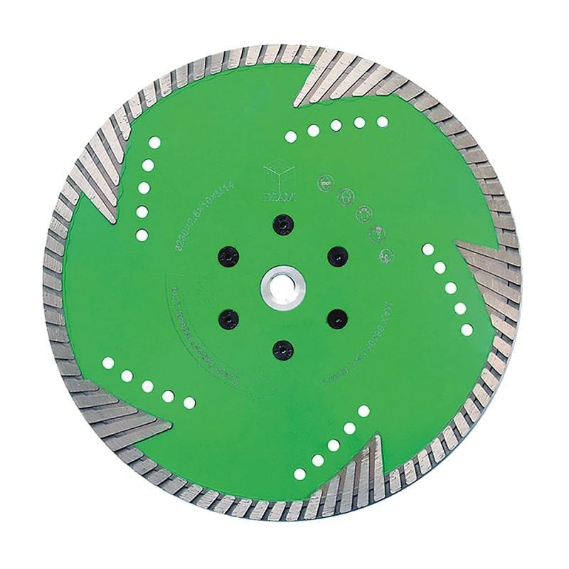 Круг алмазный Diam 230*2,8*10*22,2 диск алмазный vira турбо наружный диаметр 230 мм 593230