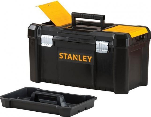 Ящик Stanley Stst1-75521 ящик с органайзером stanley stst1 75521 essential toolbox metal latch 48 2x25 4x25 см 19 черный