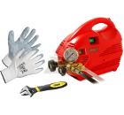 Набор MGF Опрессовщик Compact 60 905200 +Ключ 'MaxSteel'' 0-90-947 (0 - 24 мм) +Перчатки 496577