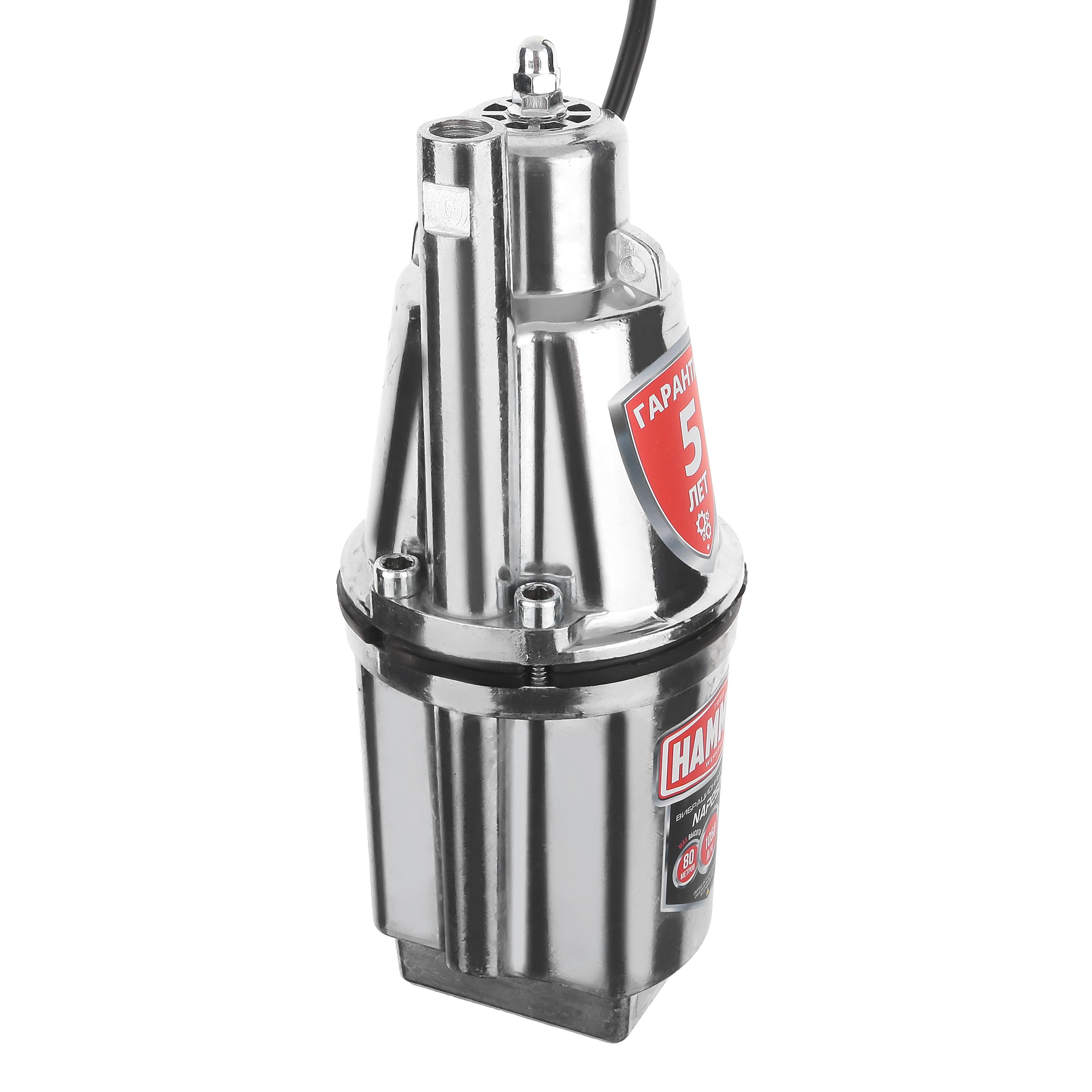 Вибрационный насос Hammer Nap250u(10) цена и фото