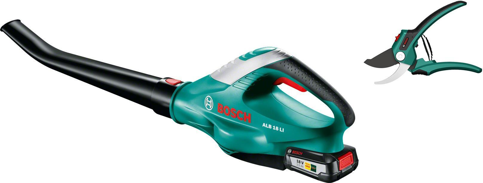 Набор Bosch Воздуходувка alb 18 li (0.600.8a0.501) +Секатор 06008b5000 цена и фото