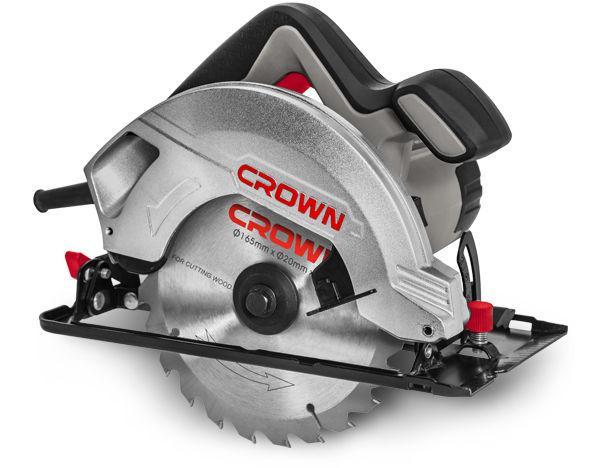 Пила циркулярная Crown Ct15187-165