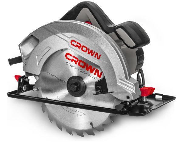 Пила циркулярная Crown Ct15199-190