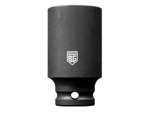 Головка ударная BERGER размер 22мм, H 75мм, S 1/2'' (BG2143)