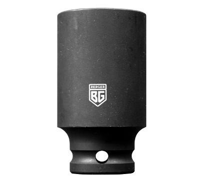 Головка ударная BERGER размер 24мм, H 75мм, S 1/2'' (BG2144)