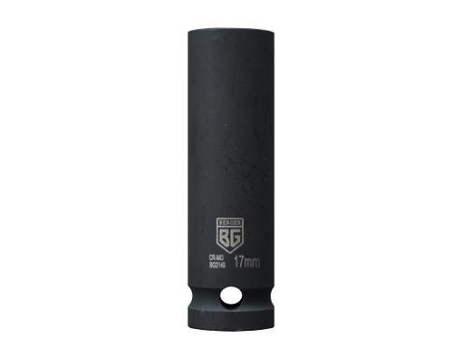 Головка ударная BERGER размер 17мм, H 75мм, S 1/2'' (BG2149)