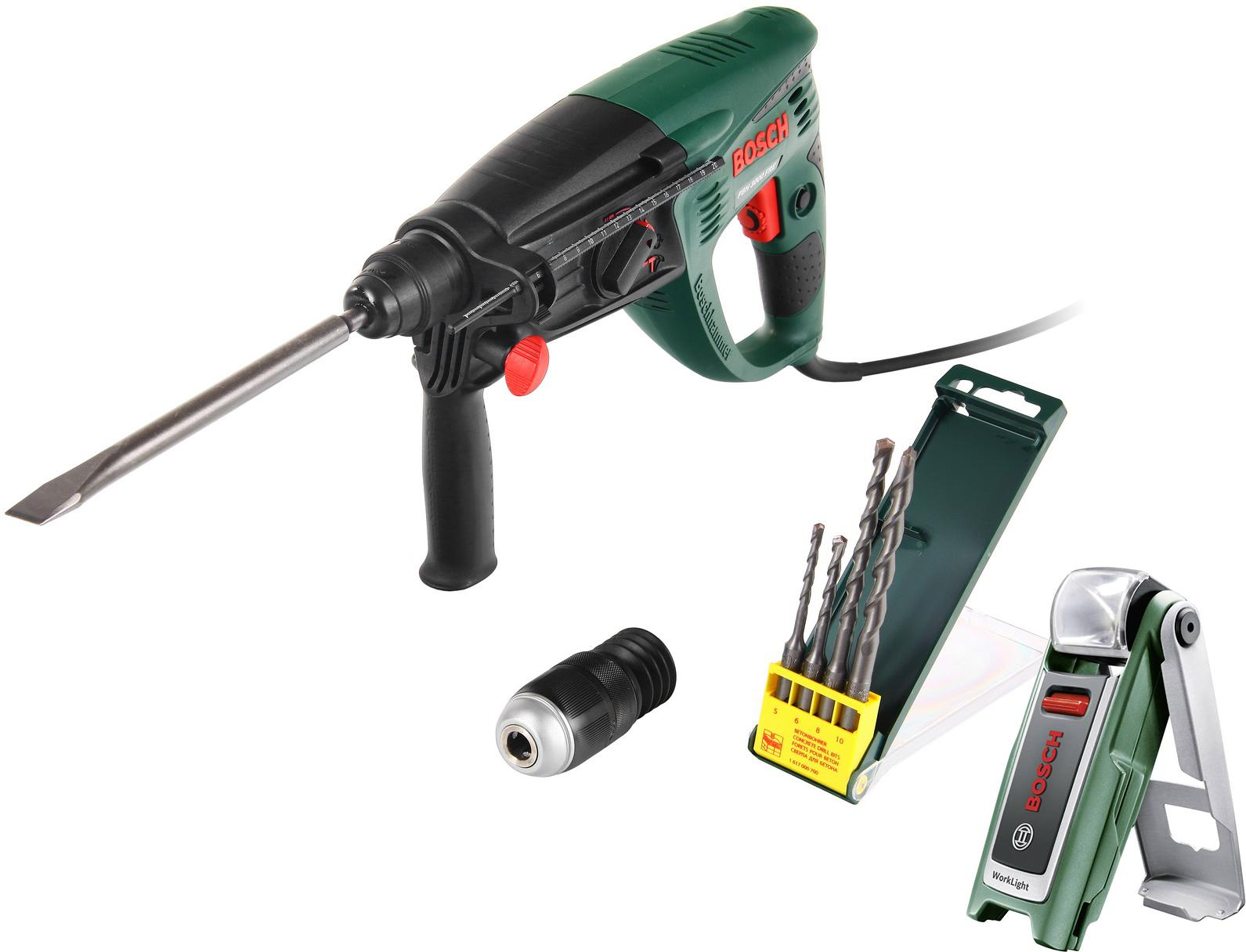 Купить Набор Bosch Перфоратор pbh 3000 fre (0.603.393.220) +Фонарь 0603975801