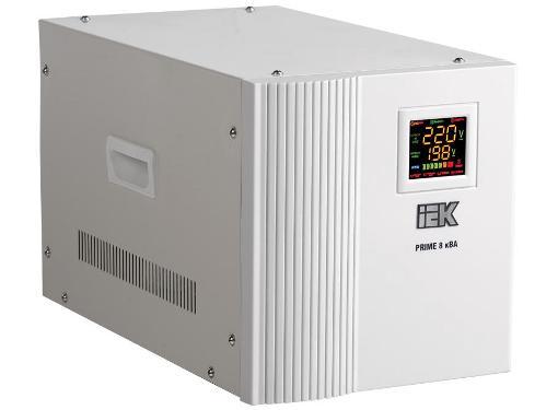 Стабилизатор напряжения IEK Prime 8кВА (IVS31-1-08000)