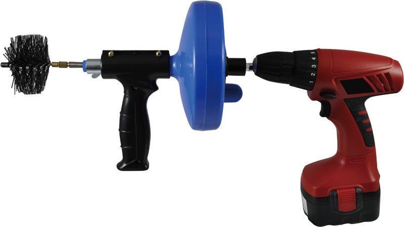 Трос для прочистки КРОКОЧИСТ 51725-6-5 трос пружинный для прочистки канализационных труб masterprof 6 мм х 5 м