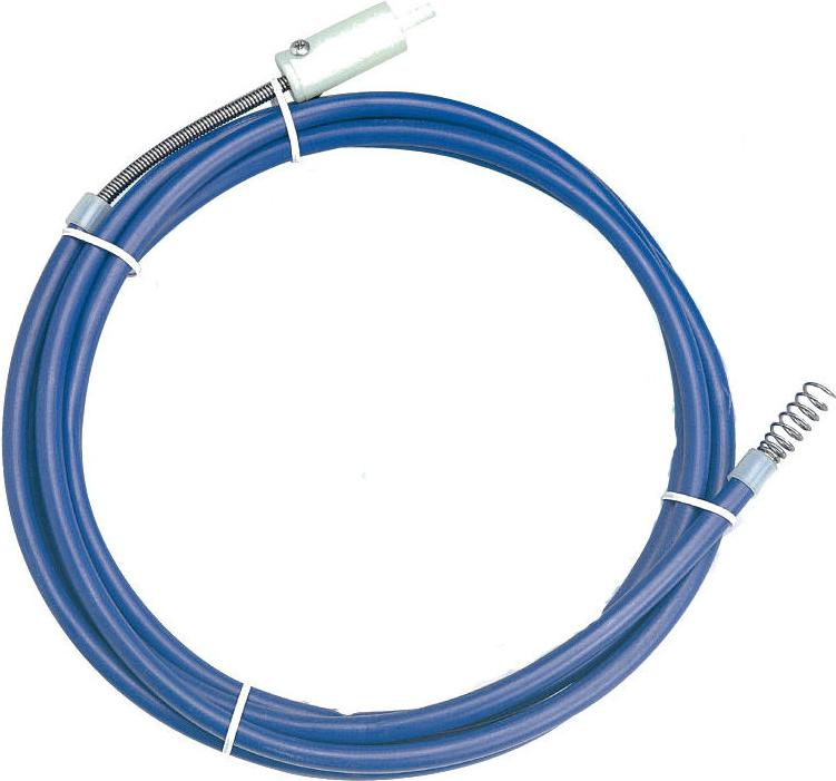 Трос для прочистки КРОКОЧИСТ 51414-6-75 трос для прочистки канализационных труб 5 5 мм х 3 м