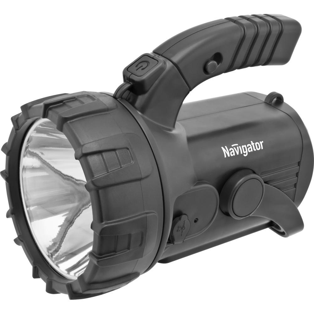 Фонарь Navigator 94 975 npt-sp12-accu фонарь прожектор navigator npt sp16 accu аккумуляторный кемпинговый ручной акб 4 а ч