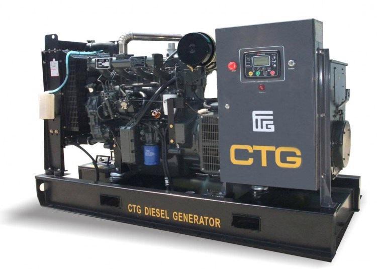 Дизельный генератор Ctg Ad-400sd контейнер для свч полимербыт смайл с клапаном 12 12 6 см