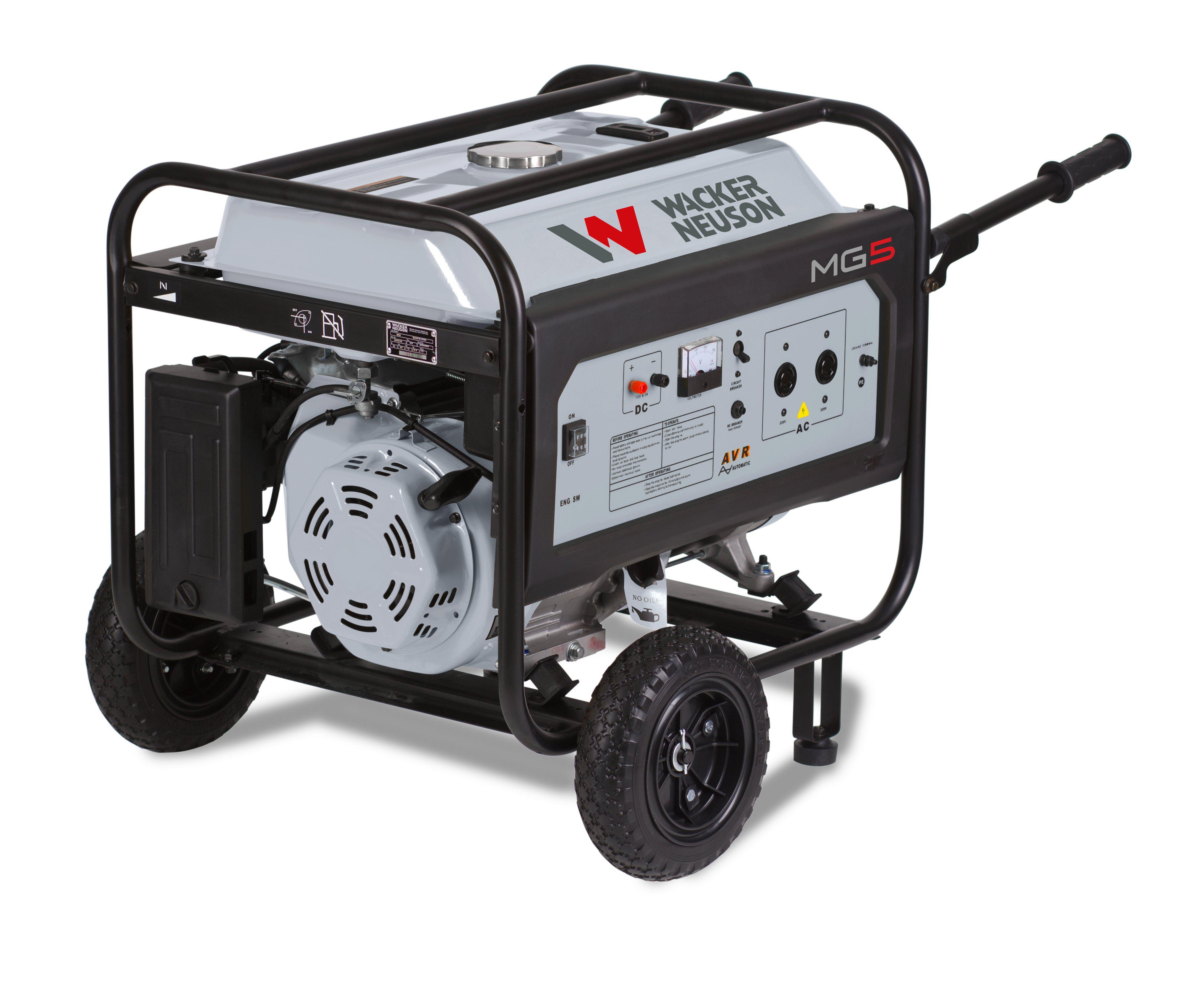 Бензиновый генератор Wacker neuson Mg5-ce