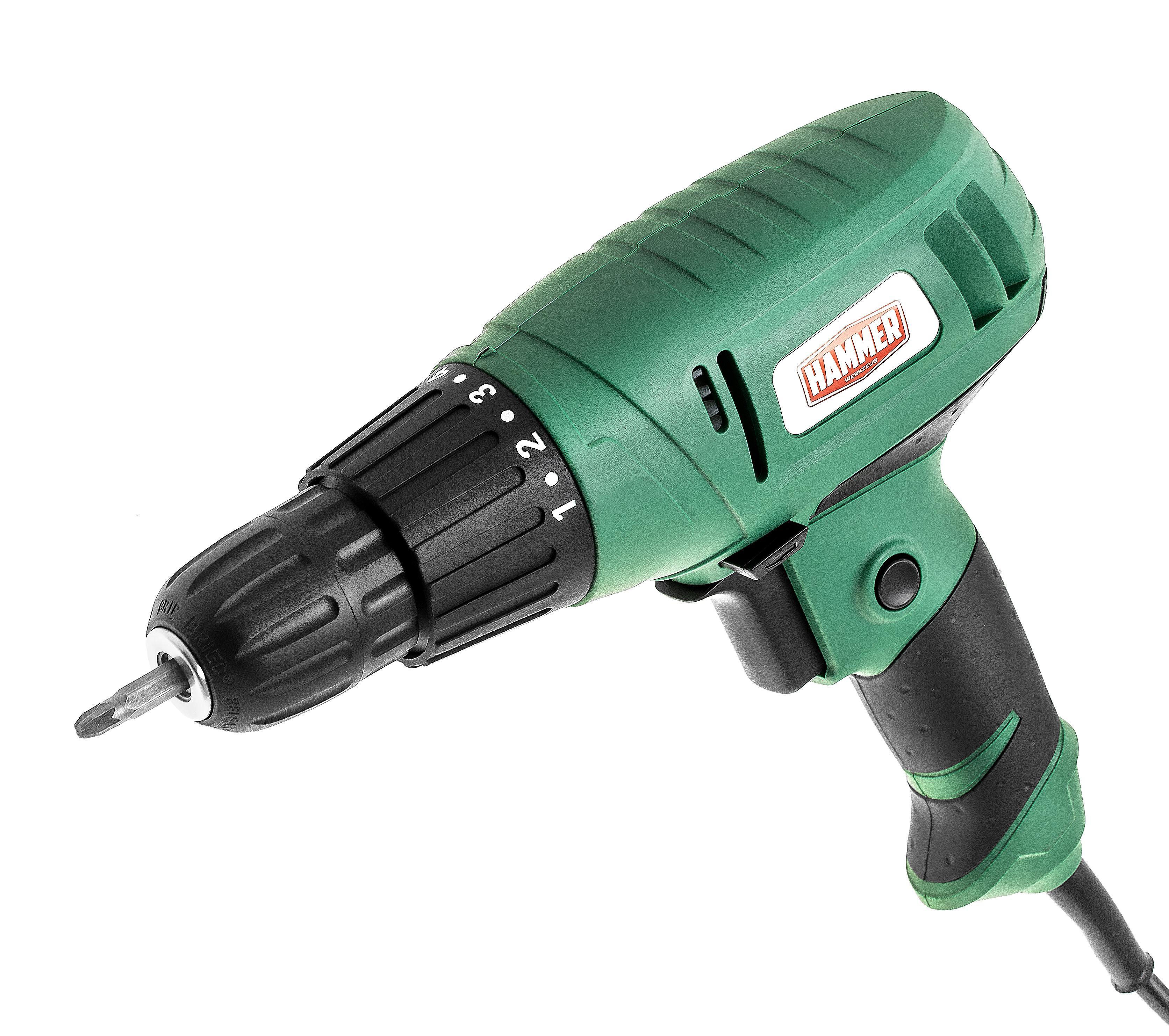 Дрель-шуруповерт Hammer Flex drl400a цена