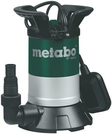 Дренажный насос Metabo Tp 13000 s (251300000) насос metabo tdp 7501 s 1000вт 0250750100