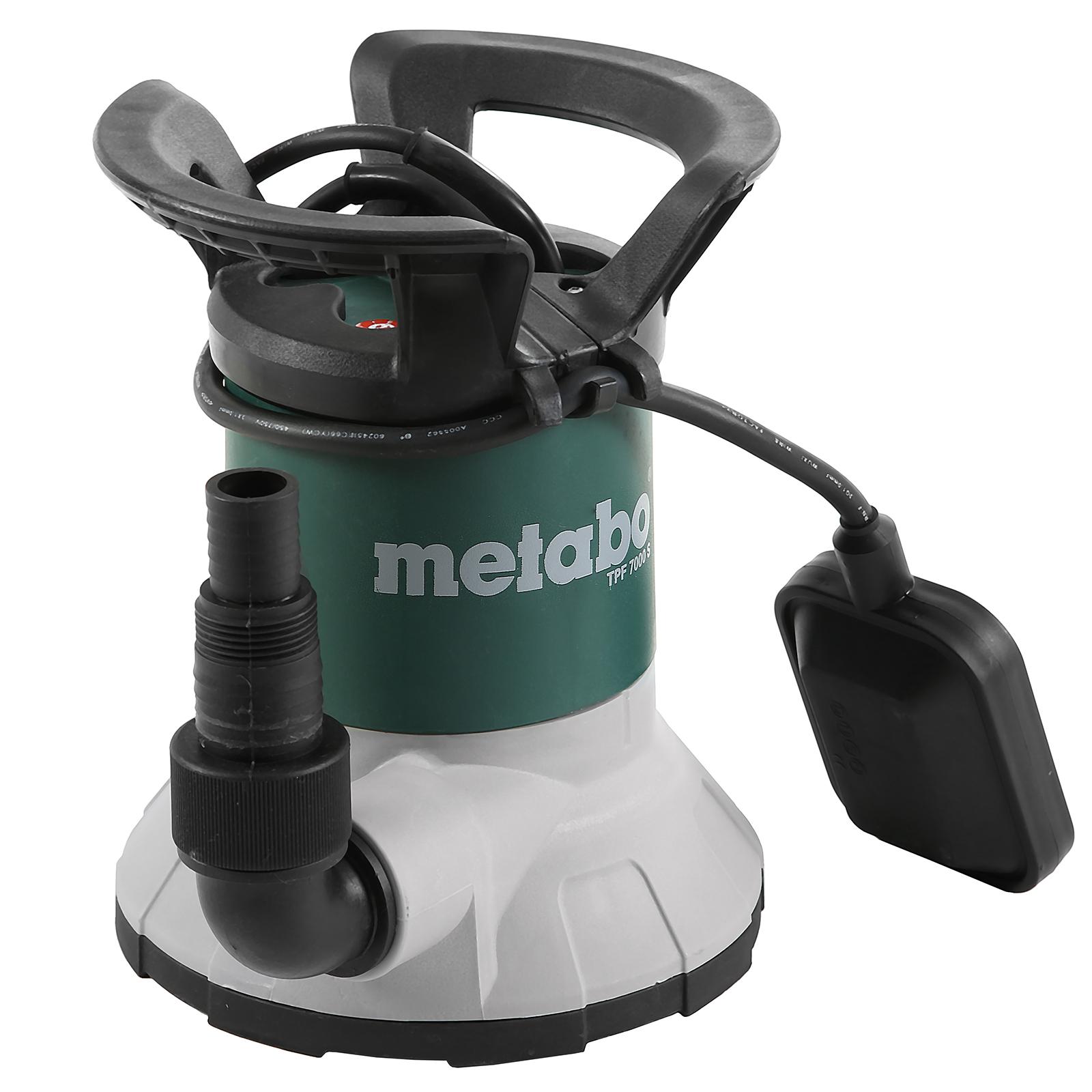 Дренажный насос Metabo Tpf 7000 s (250800002) насос погружной metabo sp 28 50 s inox