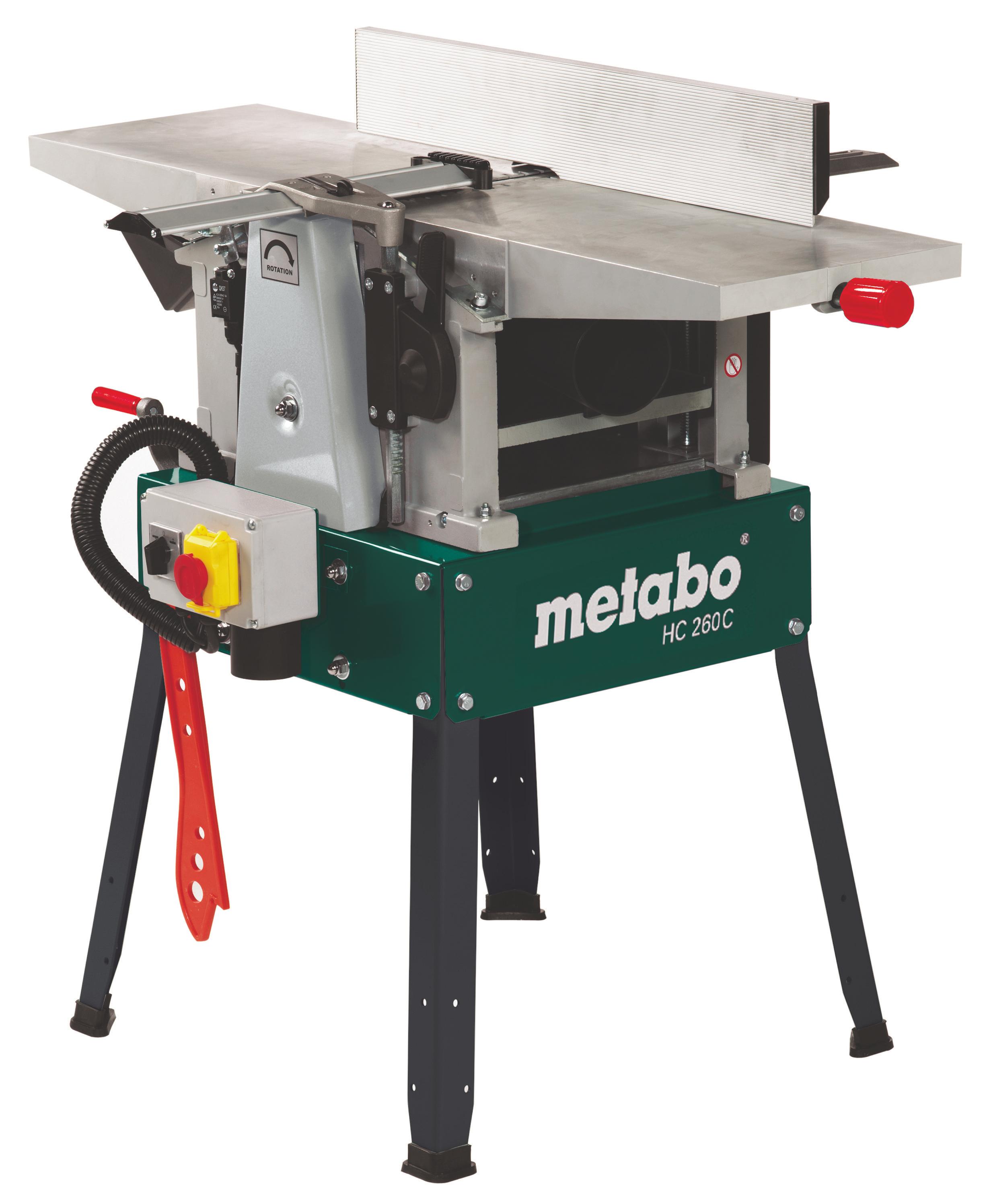 Станок фуговально-рейсмусовый Metabo Hc 260 c - 2,8 dnb (114026100)