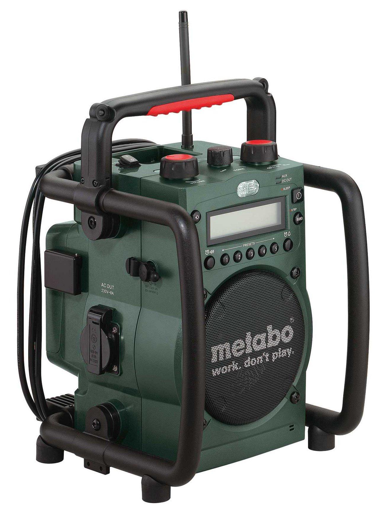 Радио Metabo Rc 14.4-18 (602106000) фонарь maglite 2d синий 25 см в картонной коробке 947191
