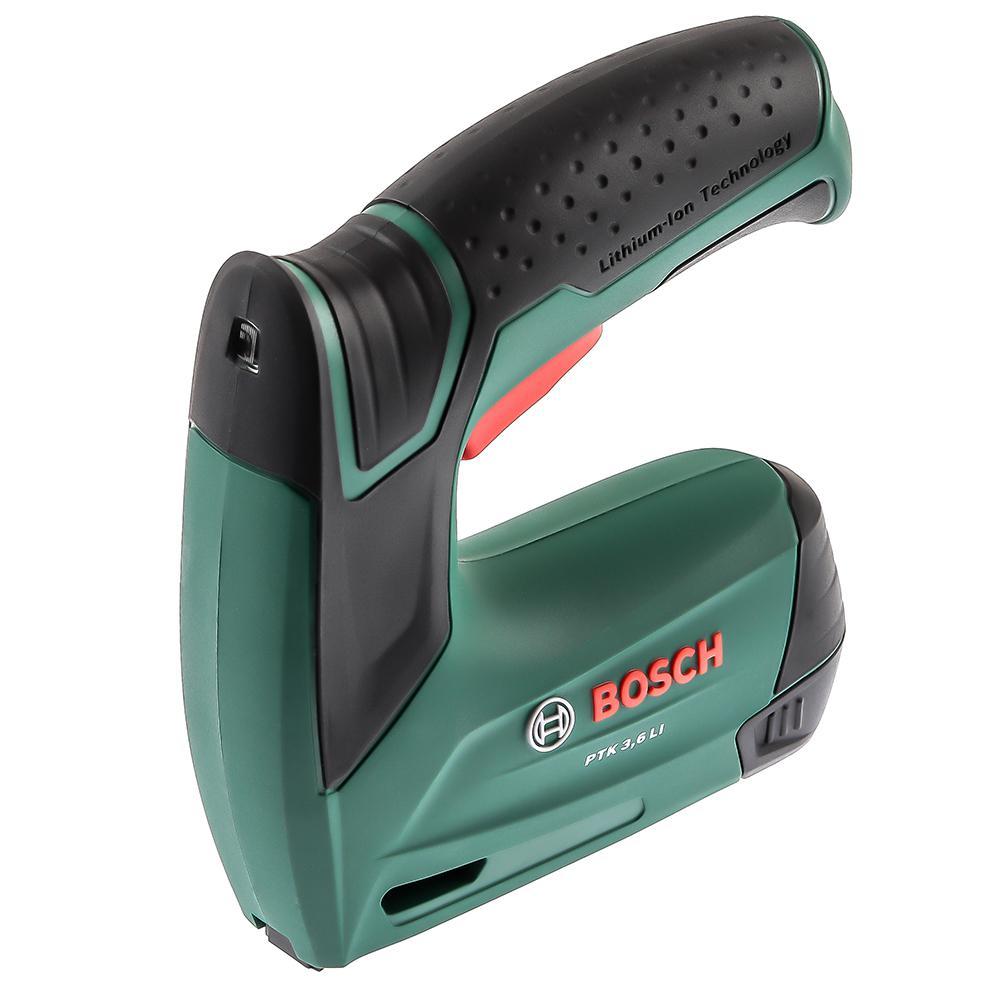 Аккумуляторный степлер Bosch Ptk3.6 li (0.603.968.120) аккумуляторный перфоратор bosch gbh 180 li 4 0ач x2 0611911023