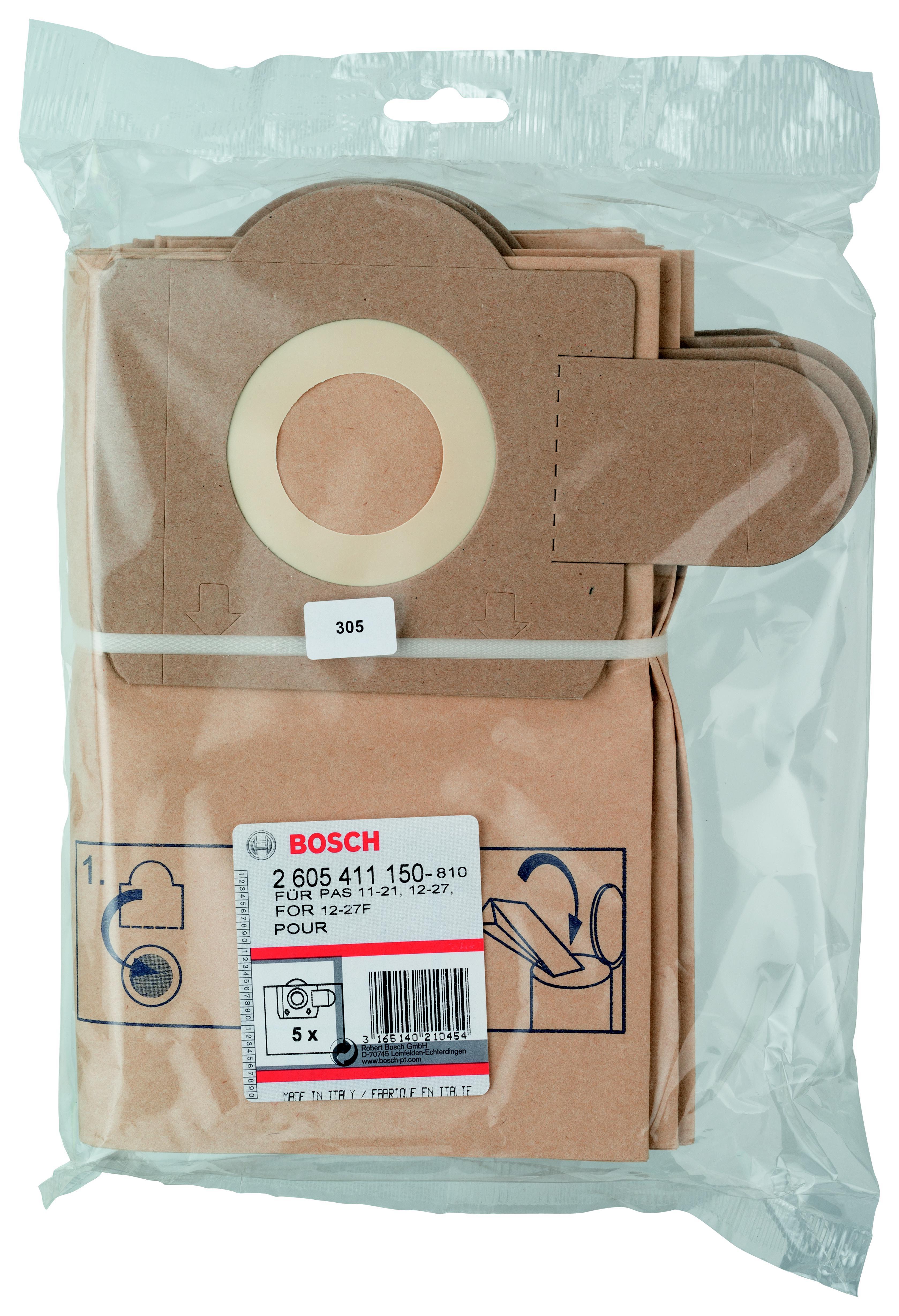 Купить Мешок Bosch для пылесоса pas 11-21 (2.605.411.150), Германия