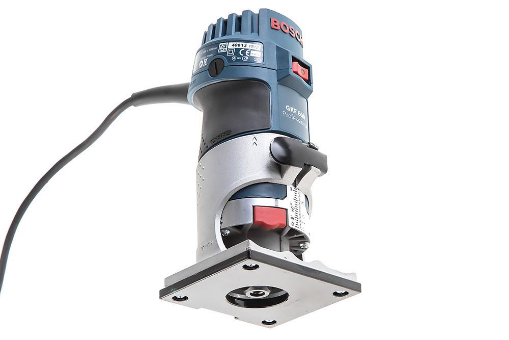 Кромочный фрезер Bosch Gkf 600 l-boxx (0.601.60a.102)