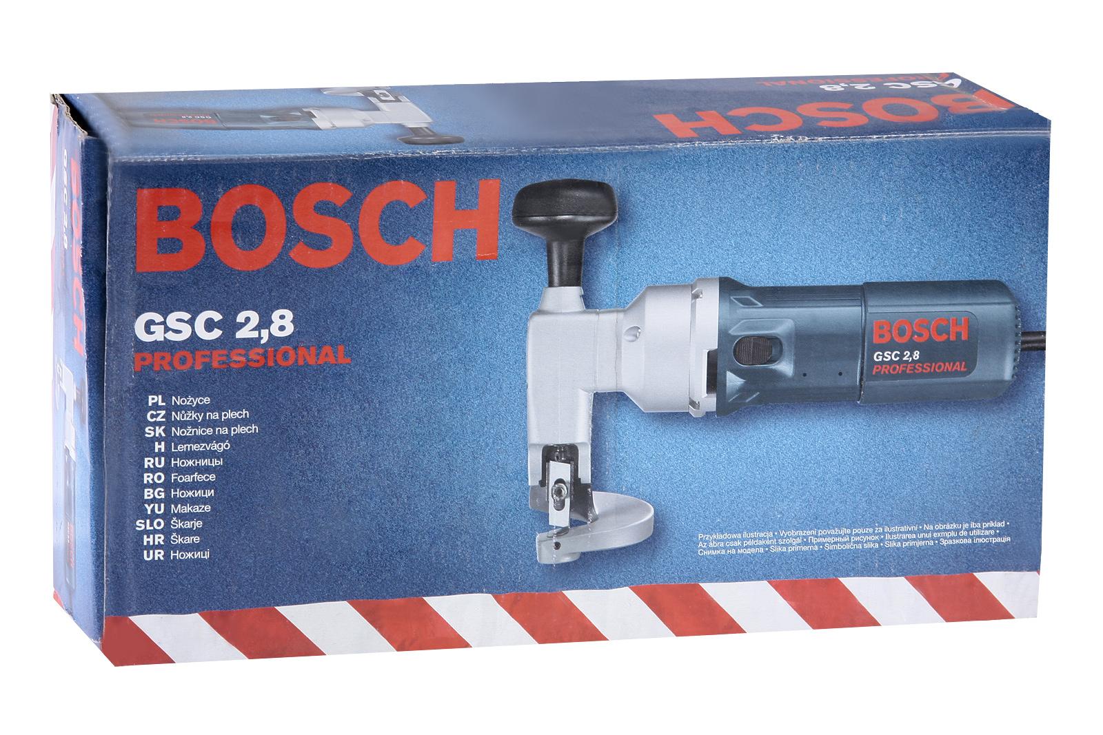 Листовые ножницы по металлу Bosch Gsc 2,8 (0.601.506.108)