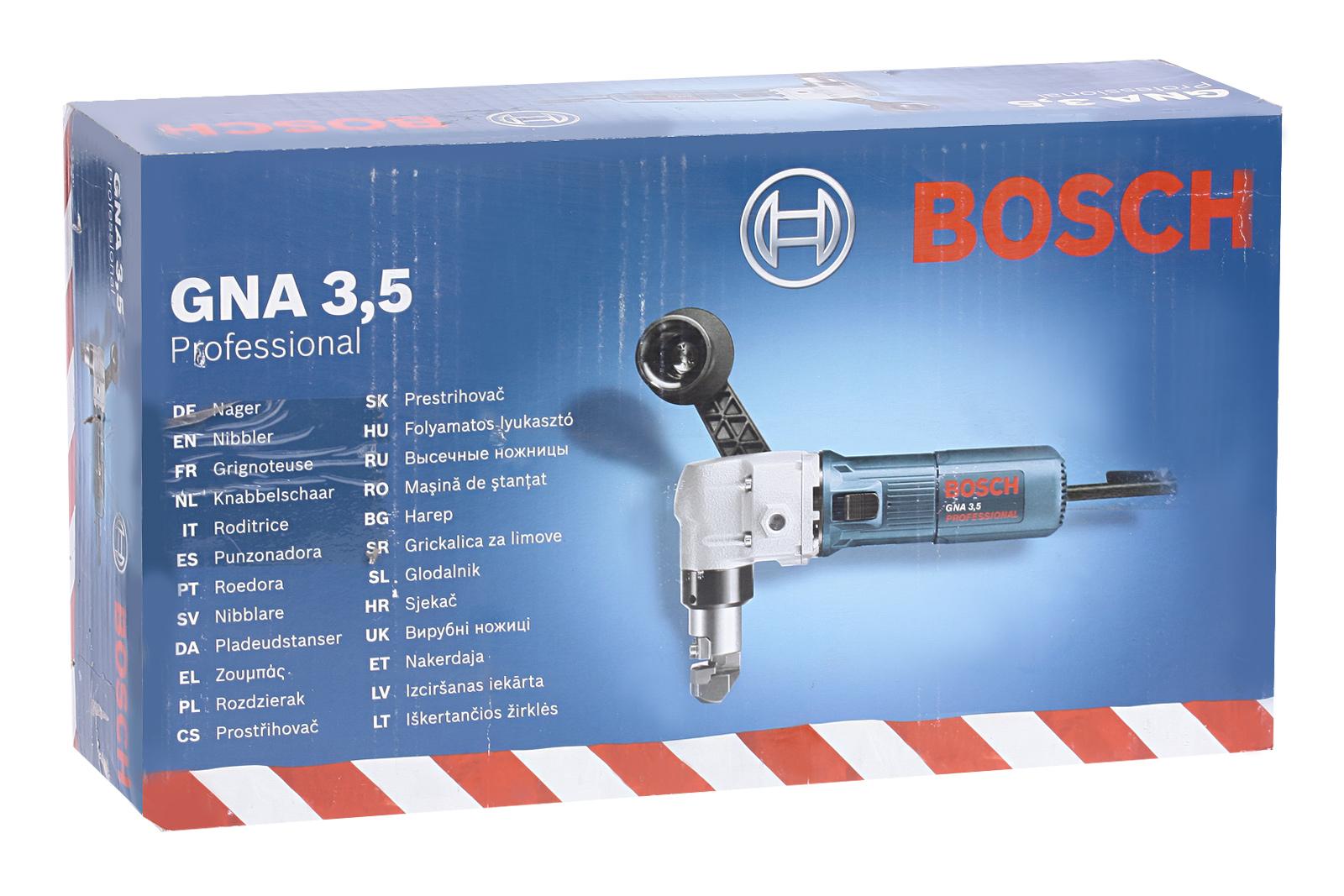 Пуансонные ножницы по металлу Bosch Gna 3,5 (0.601.533.103)