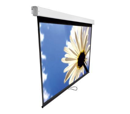 Экран KROMAX LINEN-3 white (11003)