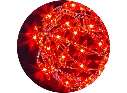 Гирлянда NAVIGATOR 21456 NGF-DM003-20R-2AA-красные звездочки