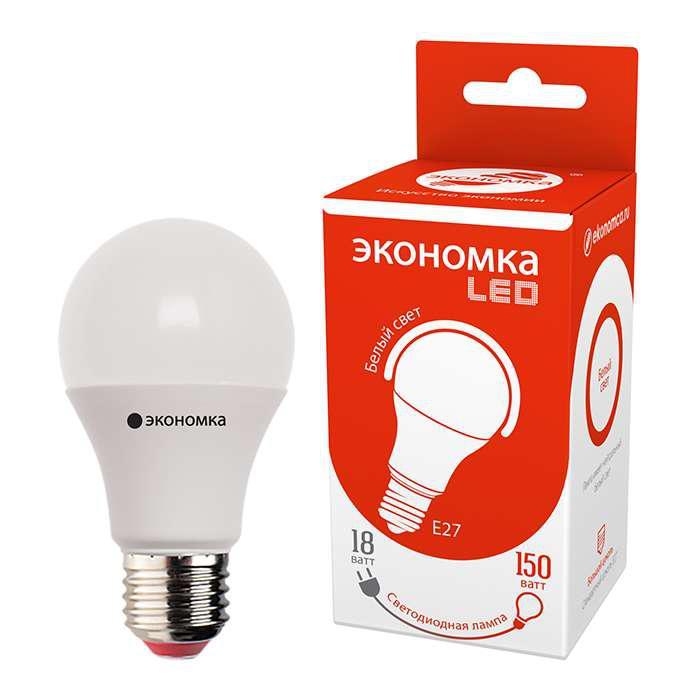 Лампа ЭКОНОМКА Eco100whwlede4065