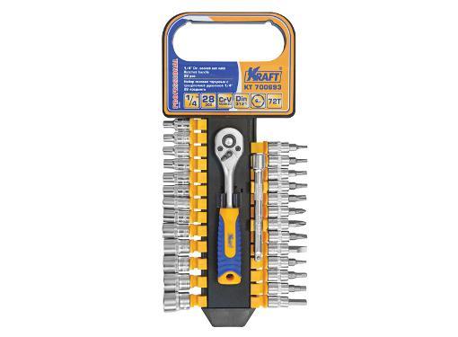 Набор торцевых ключей KRAFT KT 700693