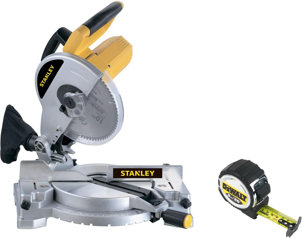 Набор Stanley Пила торцовочная stsm1510-b9 +Рулетка dwht033662